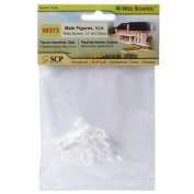 Wee Scapes Architectural Model White Styrene Figurines