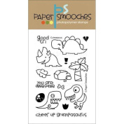Paper Smooches 4 X6 Clear Stamps - Cuteasaurus