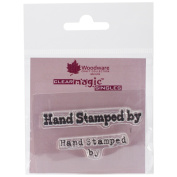 Woodware Clear Stamps 6.4cm x 4.4cm Sheet-Hand Stamped By
