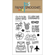 Paper Smooches 4 X6 Clear Stamps - Get Outta Town