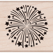 Hero Arts Mounted Rubber Stamps 3.8cm x 4.4cm -Fireworks
