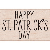 Hero Arts Mounted Rubber Stamp 5.7cm x 3.8cm -Happy St. Patrick's Day
