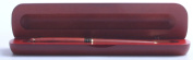 Genuine Rosewood Ballpoint Pen In Wood Gift Box From The & Ldquo;