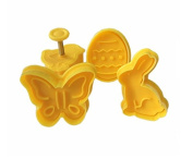 Easter Day Plunger Fondant Biscuits Cutter Decorating Cupcake Kitchen Cookie Accessories