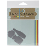 Paper Smooches Die-Crystal Clear 3
