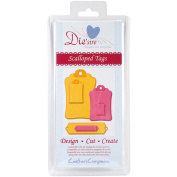 Die'sire Cutting Die-Scalloped Tags