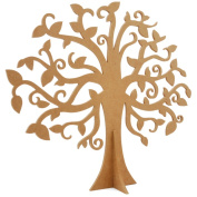 Beyond The Page MDF Large Family Tree-17.75inX15.1590cm