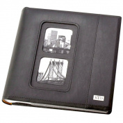Kleer Vu Avande Leatherette Bookbound Slip 200-photo Memo Page 4 x 6 Album
