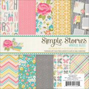 Vintage Bliss Paper Pad 15cm x 15cm 24/Sheets-Double-Sided