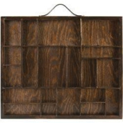 Artist Letterblock Tray 12 X10 - Stained Brown, Holds Assorted Sizes