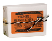 Magic Fairy Candles Patchouli Clove Goat Milk Soap, Orange, 120ml