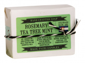 Magic Fairy Candles Rosemary, Tea Tree, Mint Goat Milk Soap, 120ml