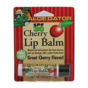 Aloe Gator Lip Balm SPF 30 Cherry