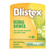 The Soothing Herbal Alternative Blistex Herbal Answer Sun Protection Lip Balm 5ml Pack