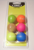 6 WOODEN PETANQUE BOULE JACKS BY OBUT COMPETITION APPROVED