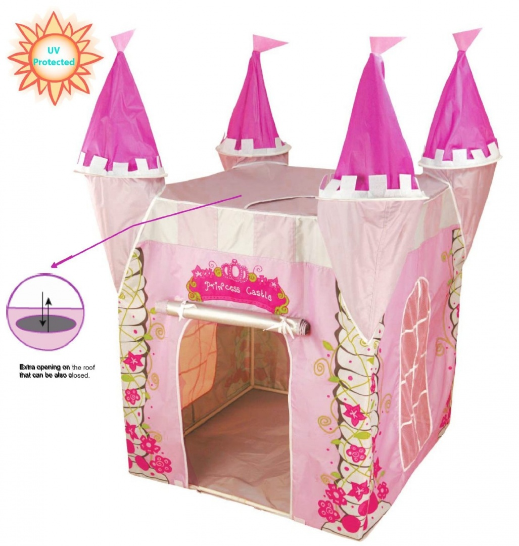 UV Protected Childrens Pop Up Play Tent Designed like a Princess Castle Girls Toy Play Tent / Playhouse / Den by Kiddus - Shop Online for Toys in the ...  sc 1 st  Fishpond.com & UV Protected Childrens Pop Up Play Tent Designed like a Princess ...