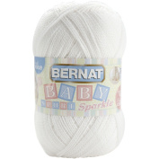 Big Ball Baby Sport Yarn -Sparkle-White Sparkle