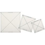 Quilt In A Day Fussy Cut Ruler Set3/Pkg
