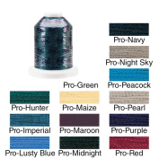 Rayon Super Strength Thread Solid Colours 1100 Yards