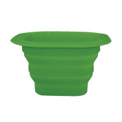 I Play Green Sprout Collapsible Silicone Storage Bowl