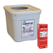 CleverCat Innovations Top Entry Litter Box with Box Liners