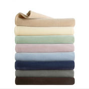 Vellux Original Solid Coloured Microplush Blanket