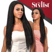 Senegal Twist Braid Lace Wig By The Stylist