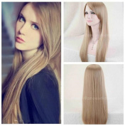 Cool2day Fashion Style Heat Resistant Long Straight Anime 80cm Multi-Colour Hair Wig Cosplay Party Wigs JF1154