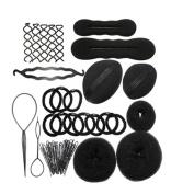 Tinksky Women Hair Styling Accessories Girls Hair Kit Set