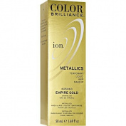 Ion Colour Brilliance Metallics Temporary Liquid Hair Makeup Empire Gold