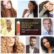 VITAMINS Organic Gold Label Shampoo - Advanced Hair Growth Treatment - 168% Increased Growth - Proven in Clinical Trials