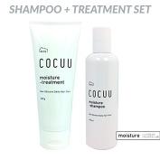 COCUU Moisture Shampoo & Treatment by Daily Cocuu 250ml + 200g