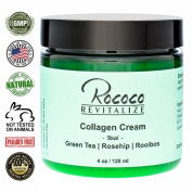 Collagen Cream with Green Tea Rosehip Rooibos - 120ml