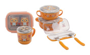 Oopsibaby Spook & Fork Set, Olivia the Owl