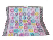 Baby Girl Pink Crib Bedding Set - Quilt