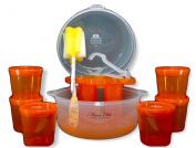 "Maxx Elite ""Clear"" Microwave Steriliser Gift Set"