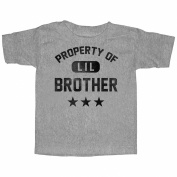 Lost Gods Property of Little Brother Toddler Graphic T Shirt - Lost Gods