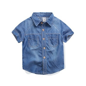 Bebone Baby Boys Summer Denim Shirt