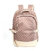 Baby Nappy Bag Travel Large Bags Backpack, Khaki Dots