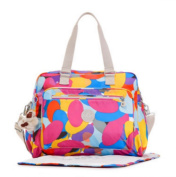 Kipling Alanna Baby Nappy Bag Swirling Dots