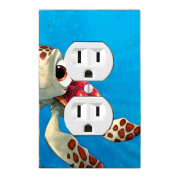 GOT YOU COVERED FINDING NEMO 3 DORY AND FRIENDS LIGHT SWITCH COVER OR OUTLET