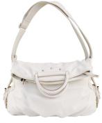 Peach Couture Classic Versatile Large Fold-over Satchel Handbag Shoulder Bag