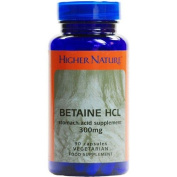 (10 PACK) - Higher Nature - Betaine Hcl | 90's | 10 PACK BUNDLE