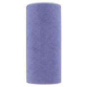 Tulle Spool - 25 Yards - 15cm Width. Lilac Sparkle