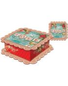 Punch Studio Square Love Gift Box 15cm X 15cm
