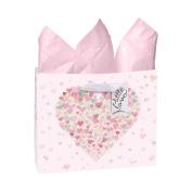 CR Gibson Little Love Large Embellished Gift Bag Pink