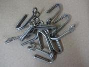 German WWII Tunic Aluminium Belt Hooks
