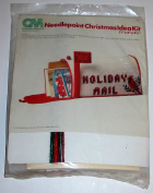 Cardinal Mailbox Needlepoint Christmas Idea Kit