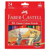 Faber Castell Premium Classic Colour Pencils, 24 Colour Pencils