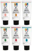 Ranger - Dina Wakley Media - Heavy Body Acrylic Paints - 2016 New Colours Bundle